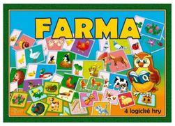 Gra planszowa Farma 4 29x20x4cm RM_10870363