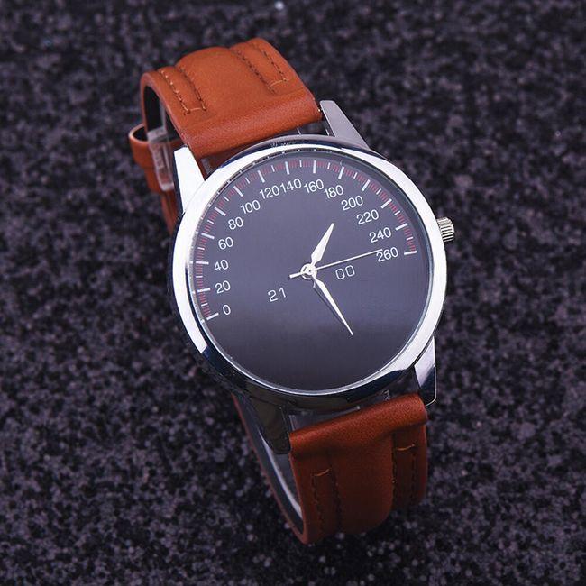Pánské hodinky s motivem tachometru - 5 barev 1