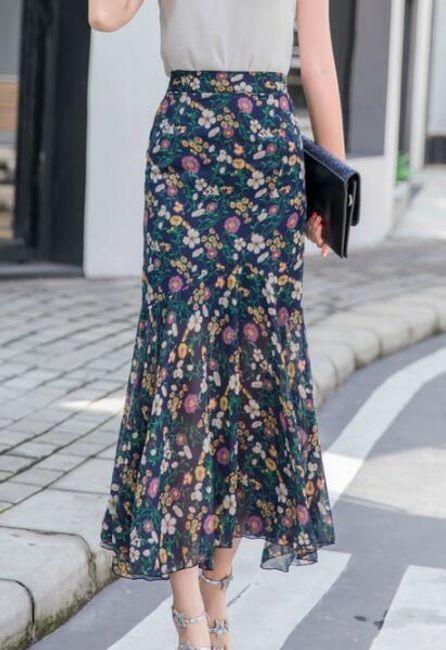 Женская длинная юбка Coline 1
