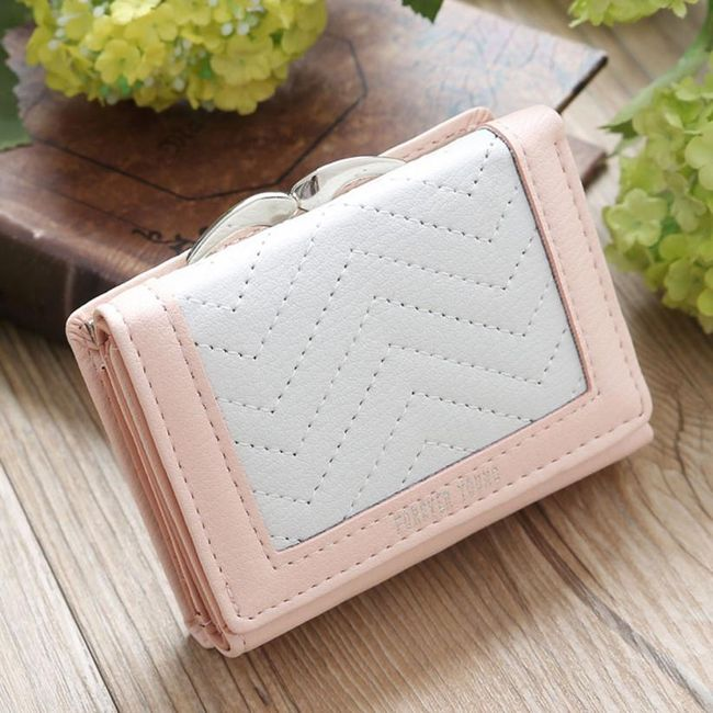 Női pénztárca - 10 5 x 8 x 2 5 cm