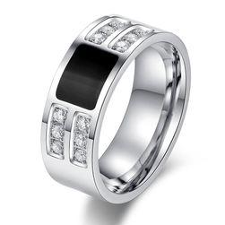 Pánský prsten s kamínky - 7 velikostí