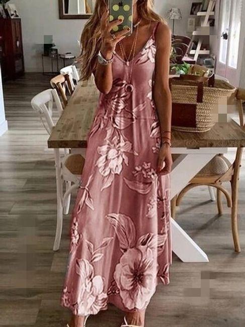 Dámské maxi šaty Ingrid 1