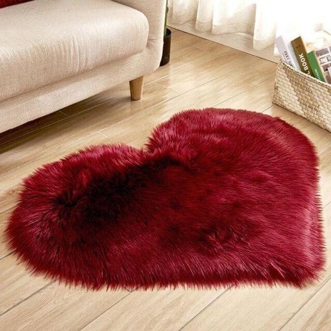 Włochaty dywanik M805 1