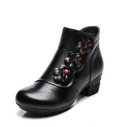 Dámské boty na podpatku Eigyr - velikost 41