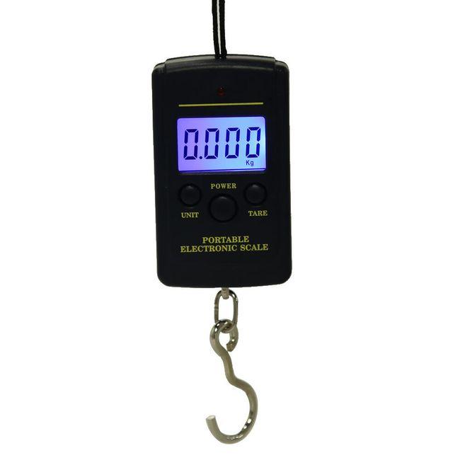Prenosna digitalna vaga za puteve - čak 40 kg 1