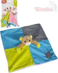 PLYŠ Baby usínáček zvířátko chrastítko 24cm 2 druhy pro miminko SR_446063