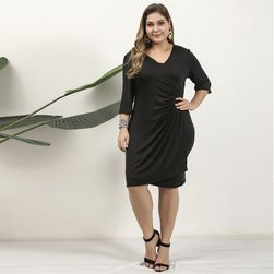 Женское платье больших размеров TF9544