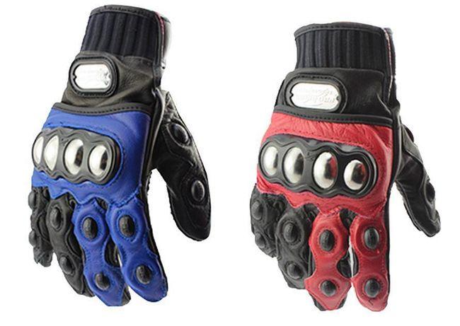 Motocyklistické rukavice - 2 barvy, 3 velikosti 1