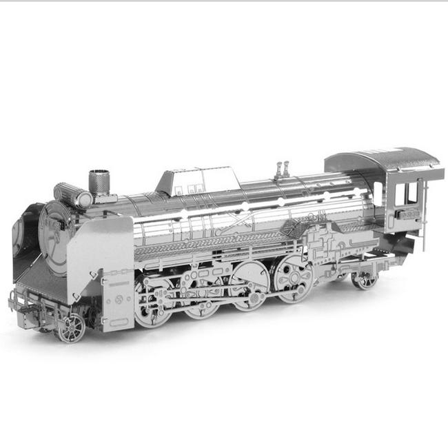 Puzzle 3D - locomotiva D51 1
