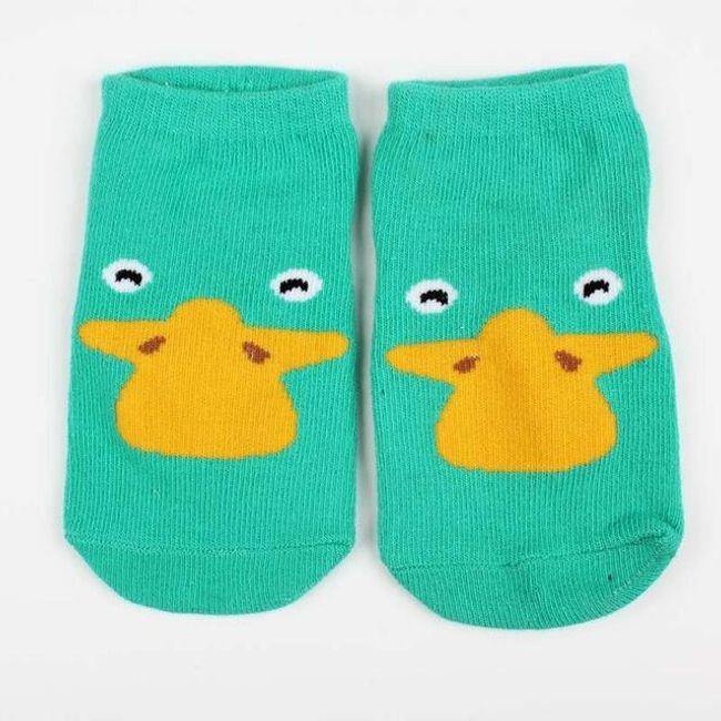 Dětské ponožky se zvířátky 1