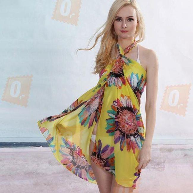 Letní sarong na pláž 1