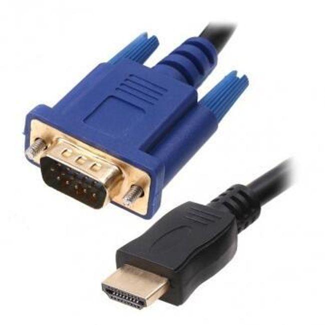 Kabel HDMI - VGA HD-15 1