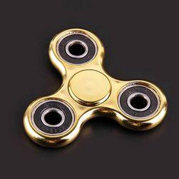 Jucărie antistres - fidget spinner - auriu