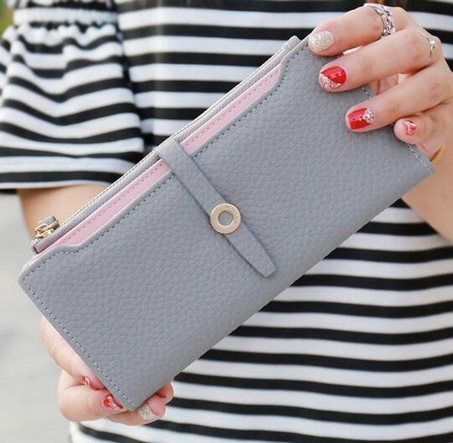 Elegantní dámská peněženka - více barev 1