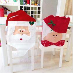 Vánoční potah na židli - 9 variant