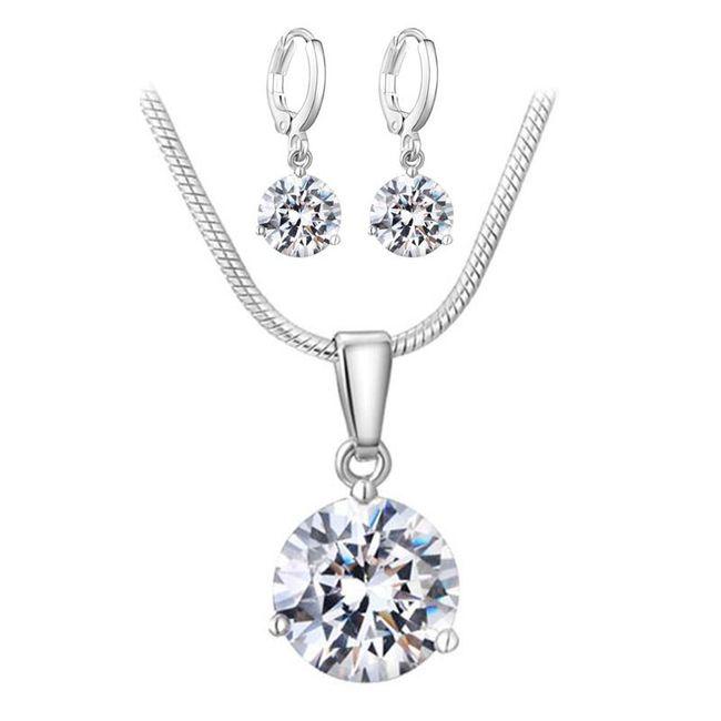 Komplet biżuterii AS04 1