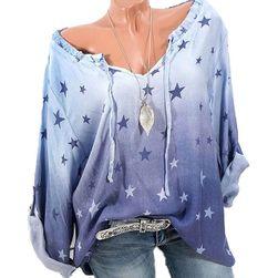 Ženska košulja sa zvezdicama - više boja
