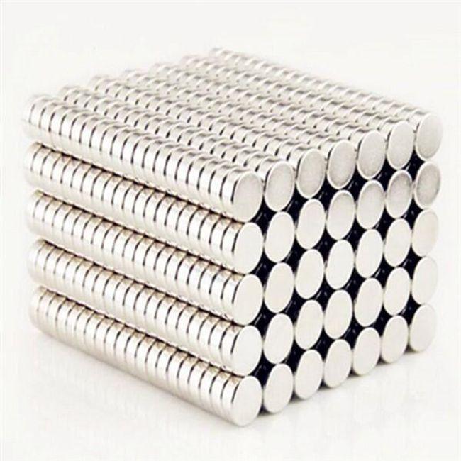 Erős neodímium mágnes (100 ks) 1