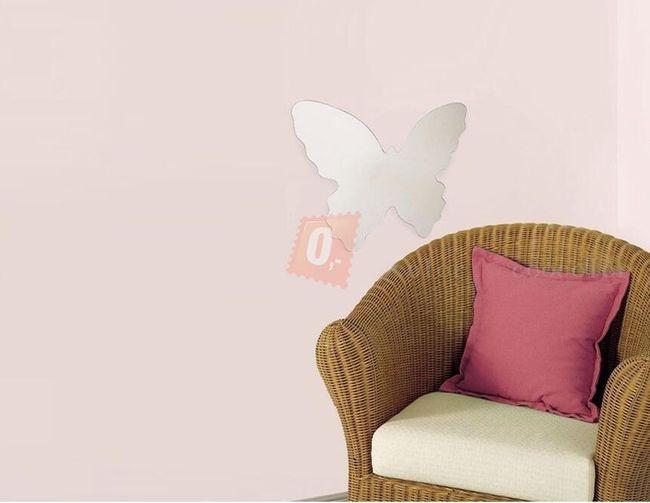 Samolepka na zeď - motýl 1