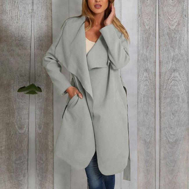 Dámský lehký kabát Zelma - 3 varianty 1