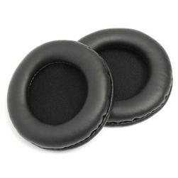 Náhradní náušníky na sluchátka v černé barvě