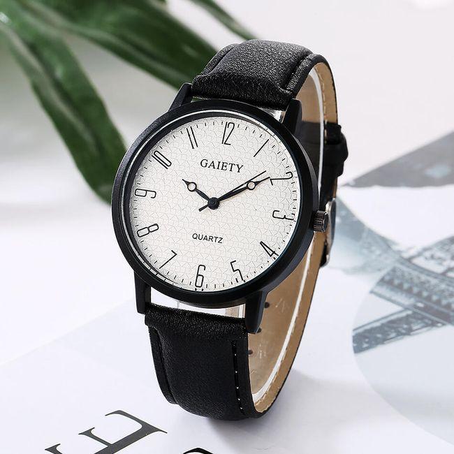 Jednoduché náramkové hodinky - 6 barev 1