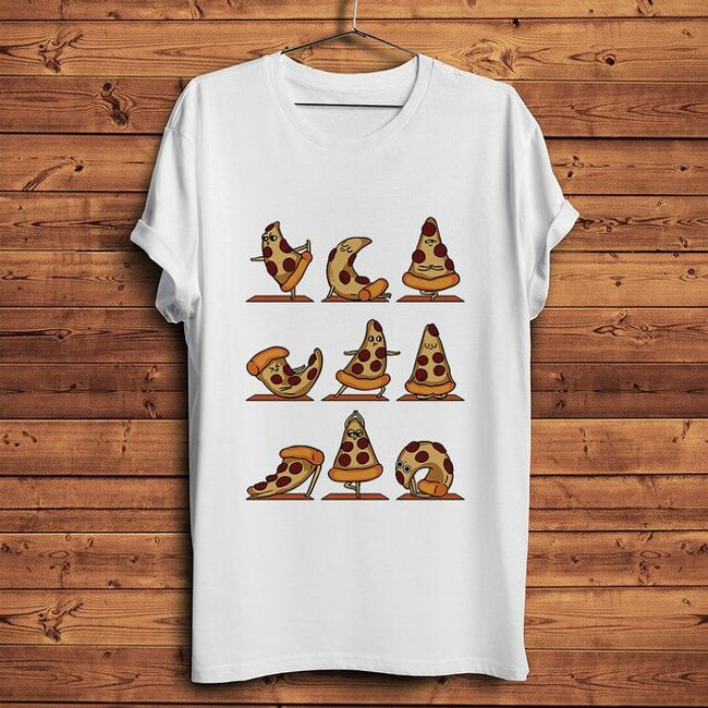 Męska koszulka z krótkim rękawem Pizza 1