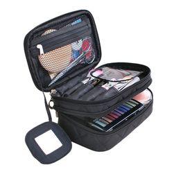 Dwupiętrowa kosmetyczna torba - różne kolory