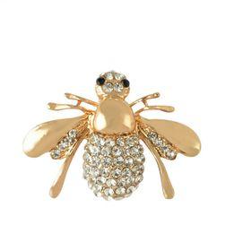 Elegáns bross méhek formában  - 2 színben