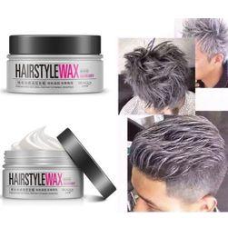 Сребрист восък за мъжка коса