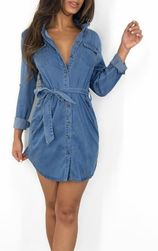 Džínové šaty Laverne