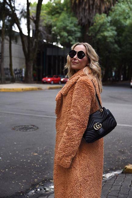Dámský kabát z umělé kožešiny Kelly 1