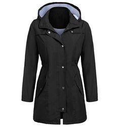 Kapuşonlu sonbahar ceket