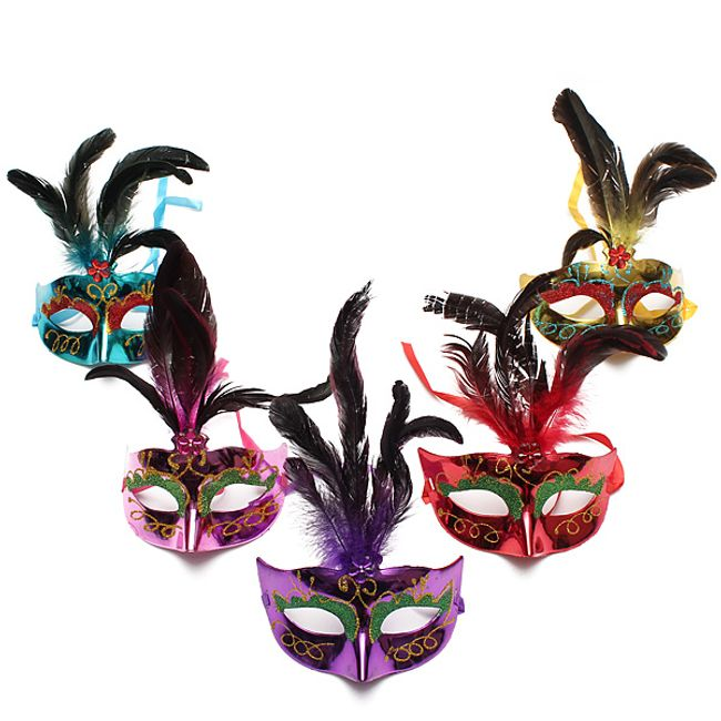 Stílusos maszk karneválhoz 1