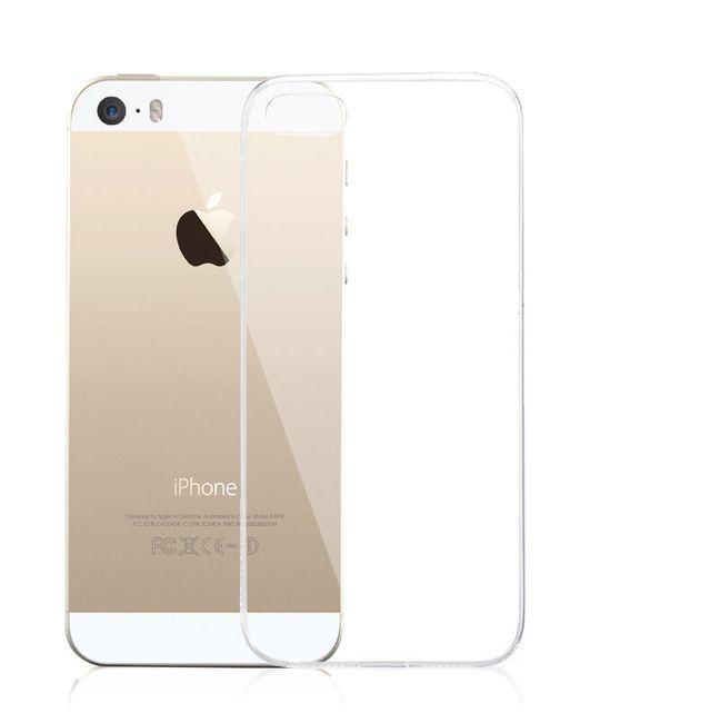 Průhledný zadní kryt pro iPhone 5/5S/SE 1