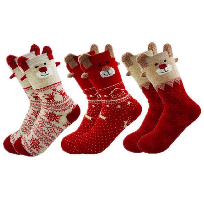 Ženske čarape B0418 1