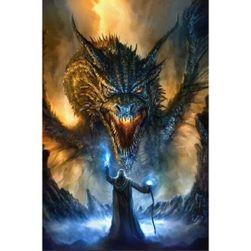 Slika iz kamenčkov - naredi sam Dragonite