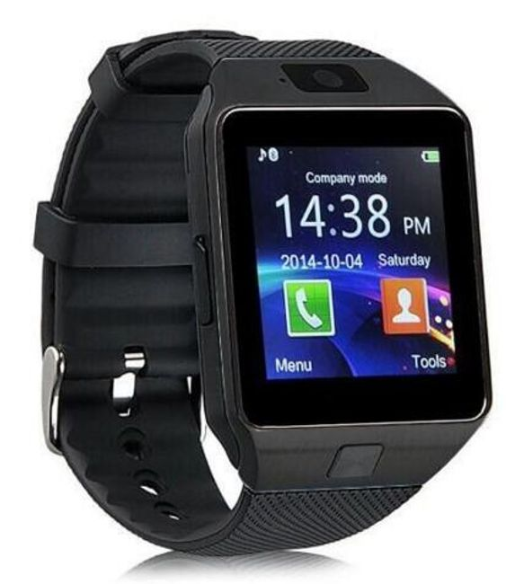 Kamera ile Android akıllı telefonlar için akıllı bluetooth saat 1