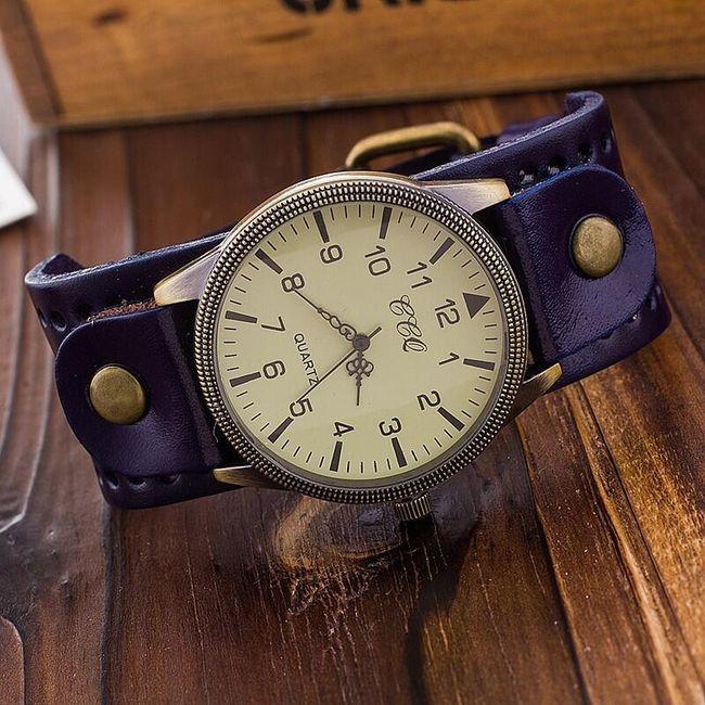 Unisex ura v vintage slogu 1