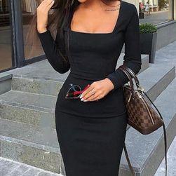 Ženska haljina sa dugačkim rukavima Micey