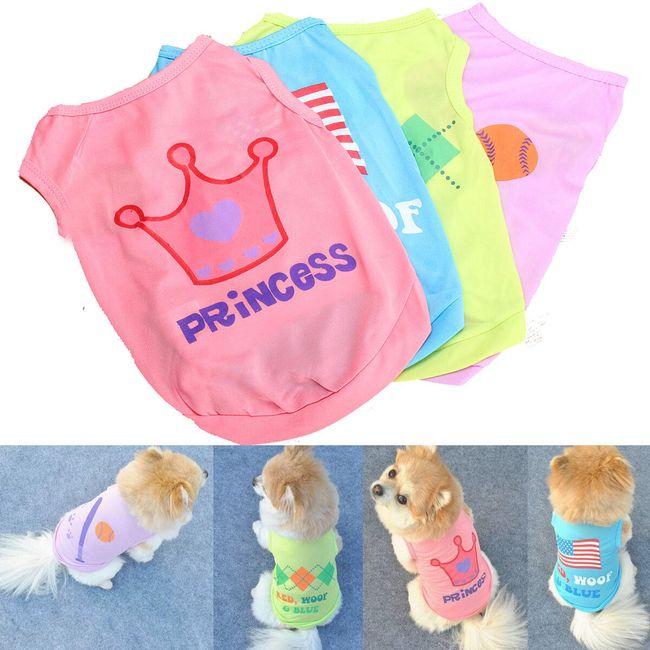 Kutya ruházat 4 színben 1