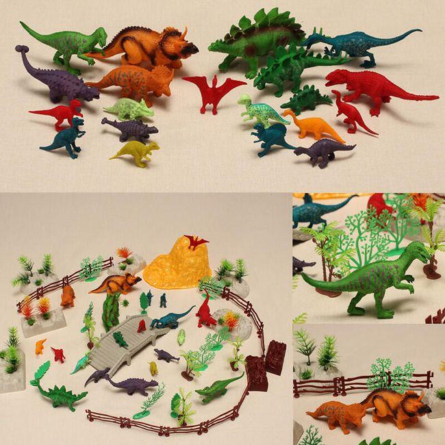 Набор фигурок динозавров 1