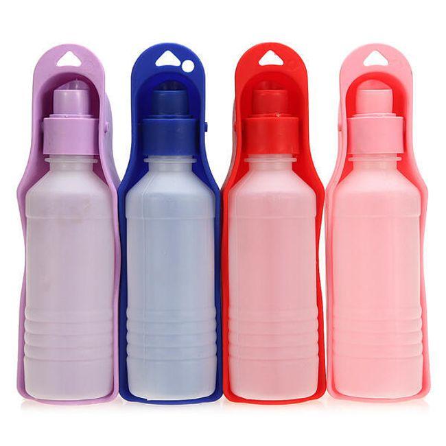 Cestovní lahev a miska na vodu pro domácí mazlíčky - 250 ml 1