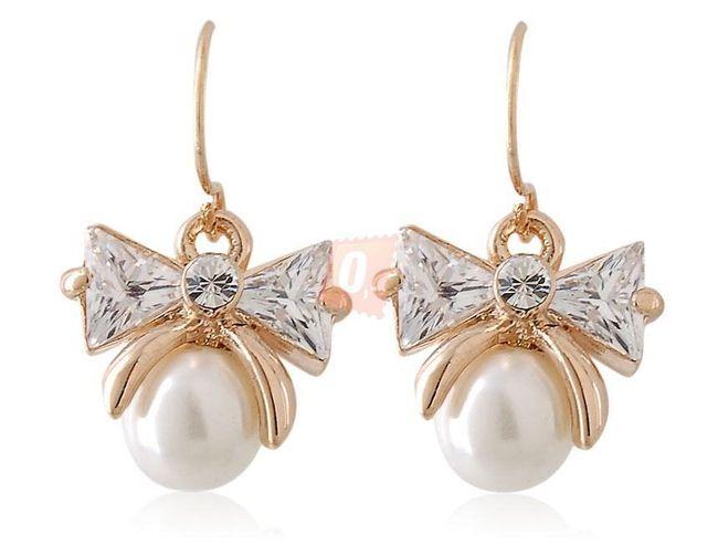 Perłowe kolczyki 1