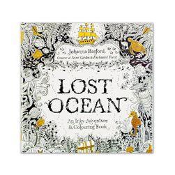 Antistressz kifestőkönyv Lost Ocean
