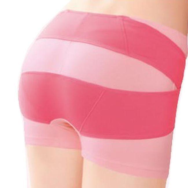 Dámské stahovací kalhotky - růžové 1