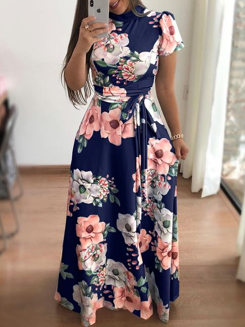 Długa damska sukienka Anona 1