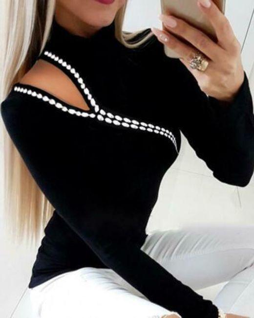 Női hosszú ujjú póló Bingie
