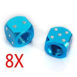 Szelepsapkák - kocka, 4 pár