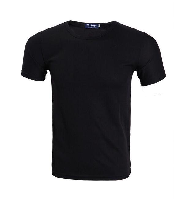 Crna sportska majica za štampu 1